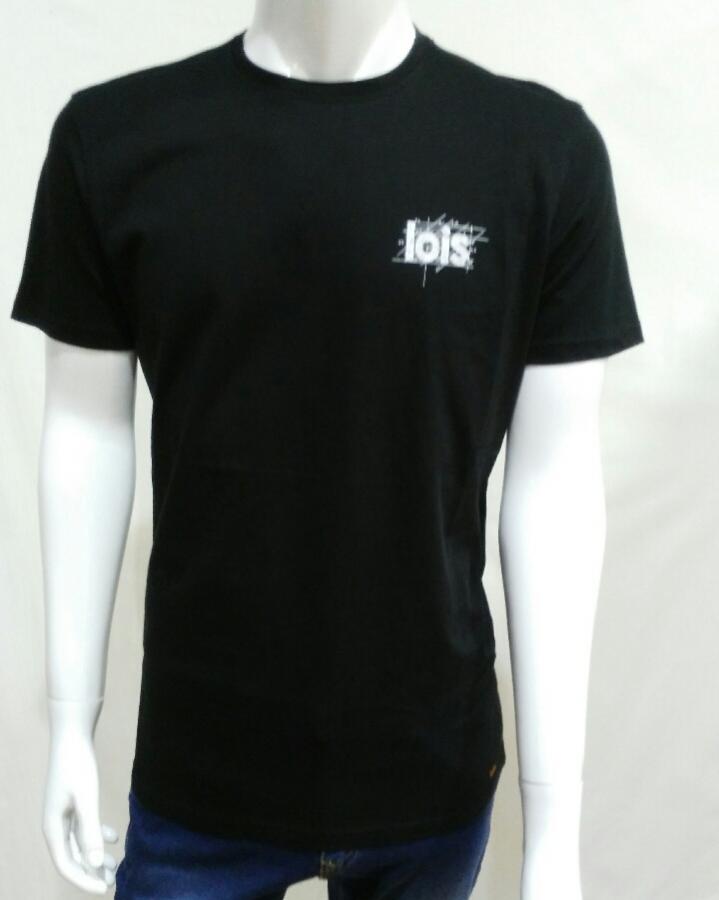 camiseta chalk bek,negro
