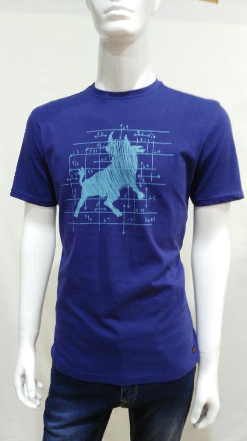 camiseta lois ,azul