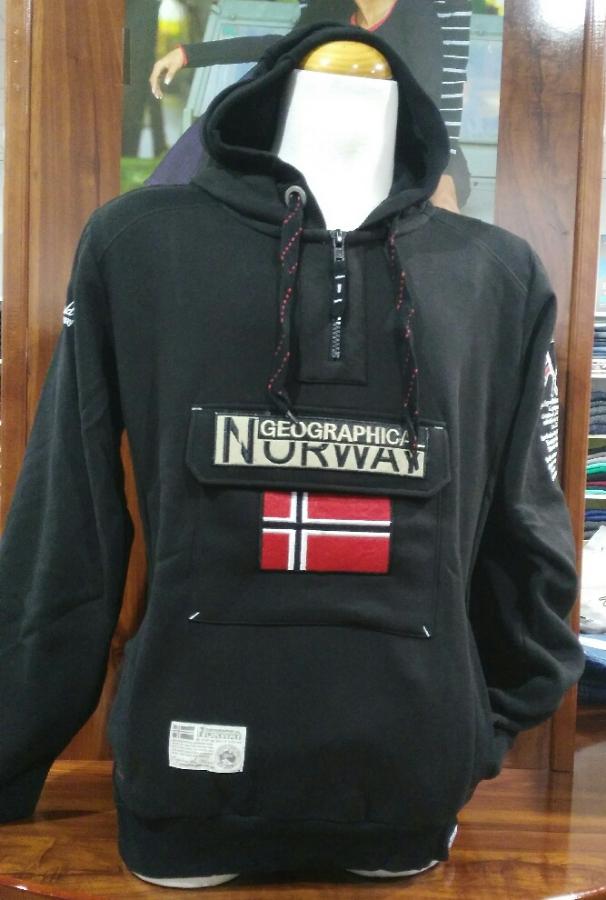 sudadera norway negra